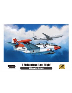 Wolfpack WP10011, T-2C Buckeye 'Last Flight' - PLASTIC MODEL KIT , SCALE 1/72