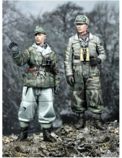 ALPINE MINIATURES 35038, Winter Panzer Crew Set (2 figures) , SCALE 1:35