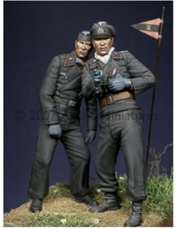 ALPINE MINIATURES 35028, Early WW2 Panzer Crew Set (2 figures), SCALE 1:35