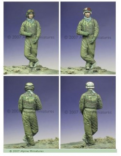 ALPINE MINIATURES 35024, OIF US Tank Crew 2 , SCALE 1:35