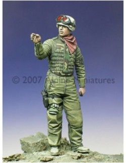 ALPINE MINIATURES 35023, OIF US Tank Crew 1 , SCALE 1:35