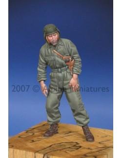 ALPINE MINIATURES 35052, WW2 US Tank Crew  2, SCALE 1:35