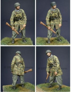 ALPINE MINIATURES 35021, German Paratrooper , SCALE 1:35