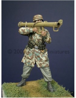 ALPINE MINIATURES 35020, German Para with PzSchreck , SCALE 1:35