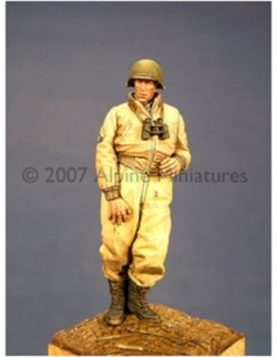 ALPINE MINIATURES 35033, US Tank Crew in Winter 1, SCALE 1:35