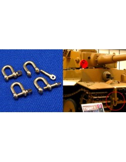 1:35, RB Model, 07774, Shackles (4 pcs) Used in different military vehicles