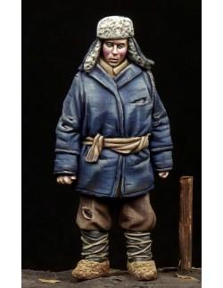 Boy WW II period, (1 FIGURE), The Bodi, TB-35098, 1:35