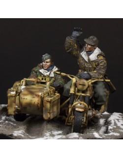 German Motorcycle Crew, (2 FIGURES), The Bodi, TB-35086, 1:35
