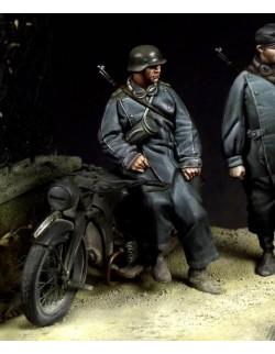 German Motorcyclist  2 (1 figure), The Bodi, TB-35055, 1:35