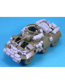 LEGEND PRODUCTION, LF1275, M8 Greyhound Stowage set - 47 Resin parts , SCALE 1:35