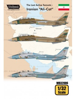 "Wolfpack WD32006, The Last Active Tomcats - Iranian ""Alicat"" (F-14A), SCALE 1/32"