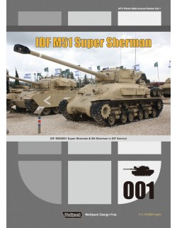 Wolfpack WPB1001, IDF M51 Super Sherman - IDF M50/M51 Super Sherman & M4 - BOOK