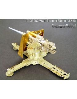 PE (basic set) for WWII German 88mm Flak18(For AFV) 35067, 1:35, VOYAGERMODEL