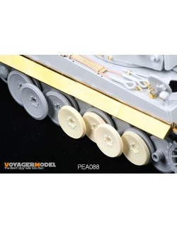Dameged Road Wheels for Tiger I Early Version, PEA088, VOYAGERMODEL 1/35