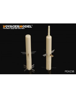 Modern TOW missile (2pcs), PEA238, 1:35, VOYAGER MODEL