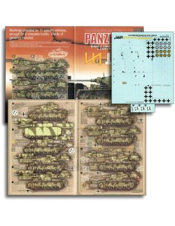 ECHELON FD AXT351018, 1/35 Decals for Das Reich & Wiking Panzer III Ausf J/L/Ms