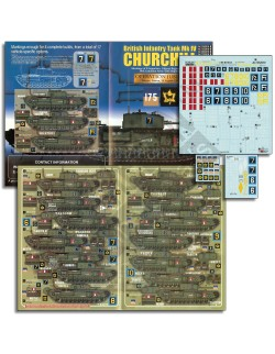 ECHELON FD ALT352010 ,1/35 Decals for Calgary Regiment Churchills (Pt1)