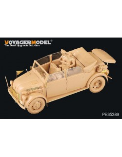 Voyager PE35389 1/35 WWII German Steyr 1500A Kommandeurwagen For TAMIYA 35235 Toys & Hobbies