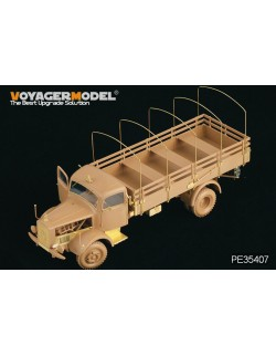 PE for WWII German Benz L4500A truck (For zvezda 02312), 35407,VOYAGERMODEL