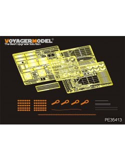 PE for Modern Merkava Mk.IV LIC MBT (For ACADMY 13227) ,35413,VOYAGERMODEL 1/35