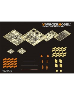PE for Modern USMC M1A1 Abrams Basic (For TAMIYA), PE35430, VOYAGER