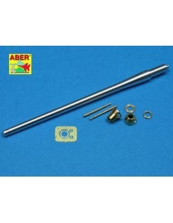 "76,2mm ""77mm HV"" and BESA BARRELS to A34 COMET BRITISH TANK , ABER 35L094, 1:35"