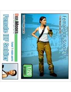"DEF. MODEL, Female IDF Soldier ""Maria"" , DF20001, 1:20"