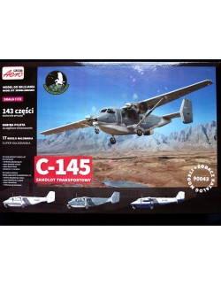 PZL C-145 SKYTRUCK (USAF SPECIAL OPERATIONS UNITS MKGS), AEROPLAST , 90043, 1/72