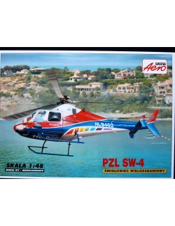 PZL SW-4 MULTI-PURPOSE HELICOPTER, CIVILIAN VERSION, AEROPLAST, 90034, 1/48