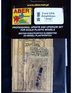 PE for Ford GPA - for TAMIYA Kit, ABER 35106, SCALE 1/35