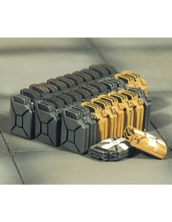 SOL RESIN FACTORY, MM043, 1:48, JERRY CANS SET