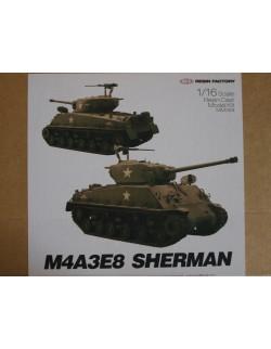 SOL RESIN FACTORY, M4A3E8 SHERMAN - FULL RESIN KIT, MM069, SCALE 1:16