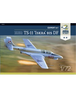 ARMA HOBBY, 70003 TS-11 Iskra bis DF - Expert set 1/72