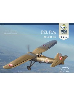 ARMA HOBBY, 70005 PZL P.7a - Deluxe Set, scale 1/72