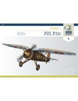 ARMA HOBBY, 70016 PZL P.11c Junior Set 1/72