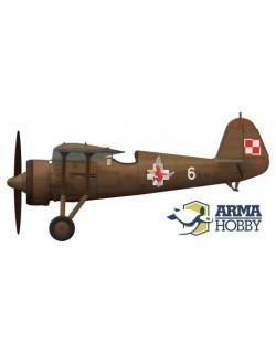 ARMA HOBBY, 70017 PZL P.11c 'Kresy' Model Kit 1/72