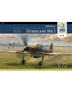 ARMA HOBBY, 70019 Hurricane Mk I Expert Set, scale 1:72