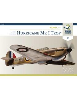ARMA HOBBY, 70021, Hurricane Mk I Trop Model Kit, scale 1:72