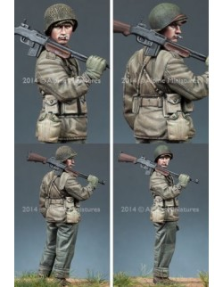 ,ALPINE MINIATURES 35169,  WW2 US BAR Gunner, SCALE 1:35