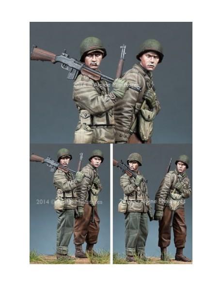 Alpine Miniatures 35171 échelle 1:35 WW2 US Infantry Set