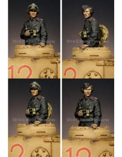 ,ALPINE MINIATURES 35175, Panzer Commander 1 SCALE 1:35