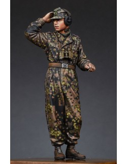 ,ALPINE MINIATURES 35187, WSS Panzer Commander 1, SCALE 1:35