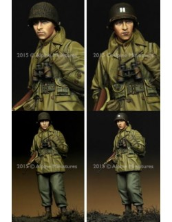 ,ALPINE MINIATURES 35203, WW2 US Infantry Officer,  SCALE 1:35