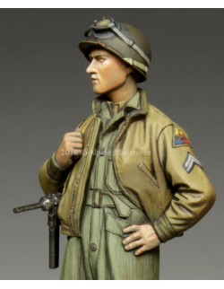 ,ALPINE MINIATURES 35217, US 3rd Armored Division Corporal,  SCALE 1:35