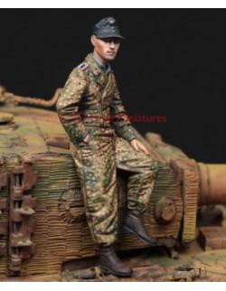 ,ALPINE MINIATURES 35224, WSS Tiger Crew 44/45,  SCALE 1:35
