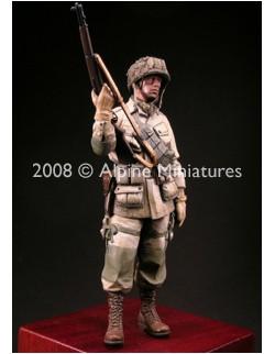 ALPINE MINIATURES 16004, WW2 US Paratrooper 82nd Airborne (1 figure), SCALE 1:16