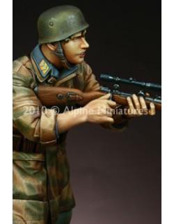 "ALPINE MINIATURES 16010, Fallschirmj""ger Sniper (1 figure), SCALE 1:16"