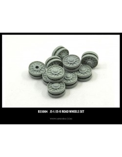 MINIARM 1:35, B35004, IS-II/ IS-I Road Wheels SET (14 PCS)