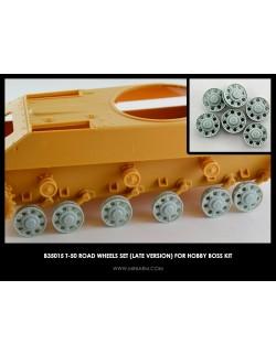 MINIARM 1:35, B35015, T-50 Road wheels set (late version) For Hobby Boss kit