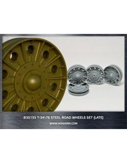 MINIARM 1:35, B35155, T-34/76 Steel road wheels set (late type)